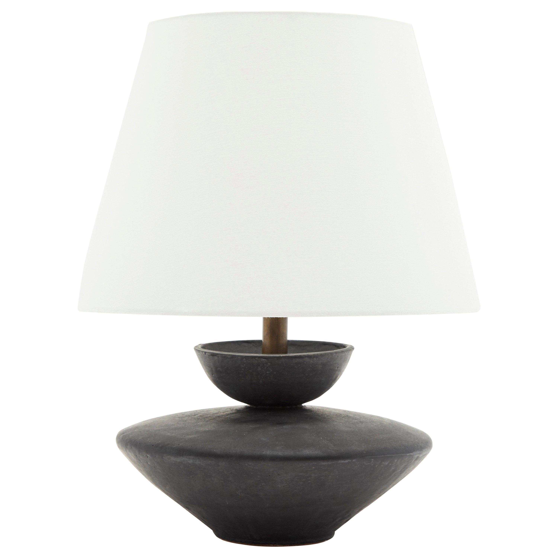Black Varinia Lamp by Danny Kaplan for Lawson-Fenning