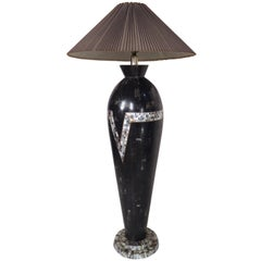 Black Vintage Modern Floor Lamp