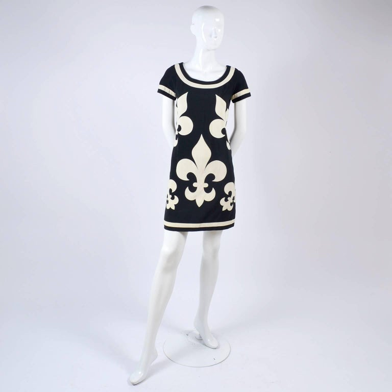 This 1989 vintage Moschino Couture