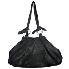 Black Vivienne Westwood Leather Shoulder Bag