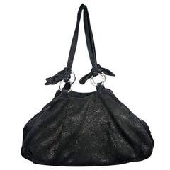 Black Vivienne Westwood Leather Shoulder Bag