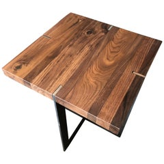 Black Walnut Square End Table