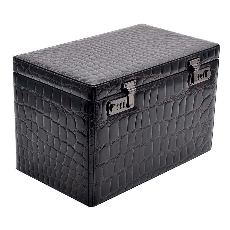 Black Watch and Cufflink Suitcase