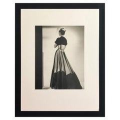 Black and White Photo Lithograph by Maurice Tabard for Harper's Bazaar, 1947