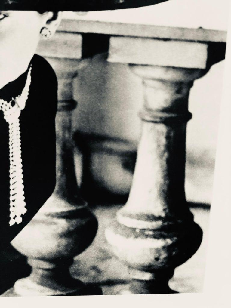 """Black & White Photo Norman Parkinson """"Legroux Soeurs Hat"""" 1952 Sheet-Fed Gravure For Sale 10"""