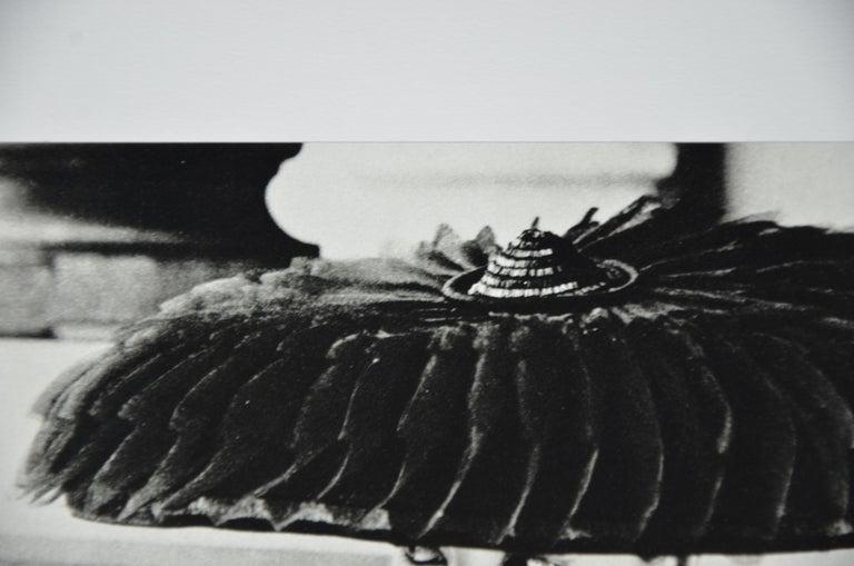 """Black & White Photo Norman Parkinson """"Legroux Soeurs Hat"""" 1952 Sheet-Fed Gravure For Sale 4"""