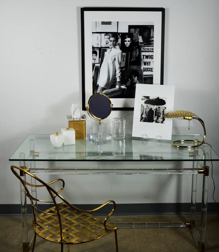 """Black & White Photo Norman Parkinson """"Legroux Soeurs Hat"""" 1952 Sheet-Fed Gravure For Sale 13"""