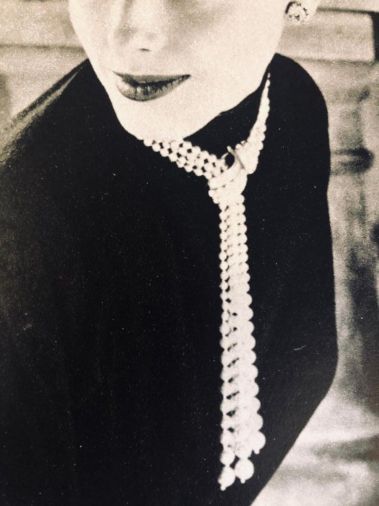 """Black & White Photo Norman Parkinson """"Legroux Soeurs Hat"""" 1952 Sheet-Fed Gravure For Sale 7"""