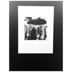 "Black & White Photo Norman Parkinson ""Legroux Soeurs Hat"" 1952 Sheet-Fed Gravure"