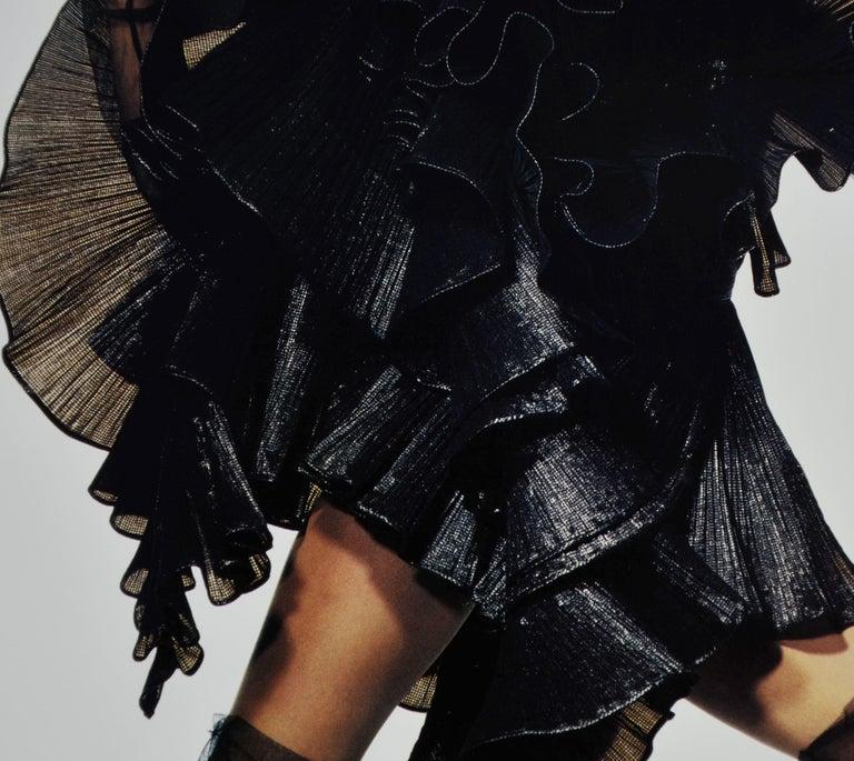 Black & White Quad-Tone Photo-Engraving, Irving Penn, Issey Miyake Fashion, NYC For Sale 5