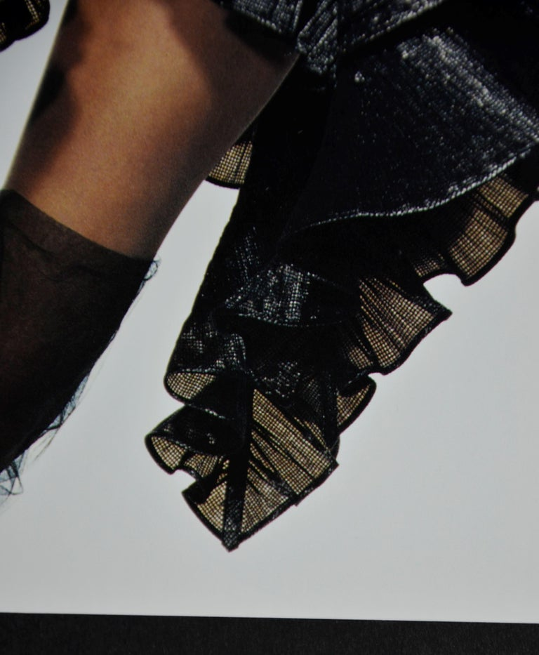 Black & White Quad-Tone Photo-Engraving, Irving Penn, Issey Miyake Fashion, NYC For Sale 8