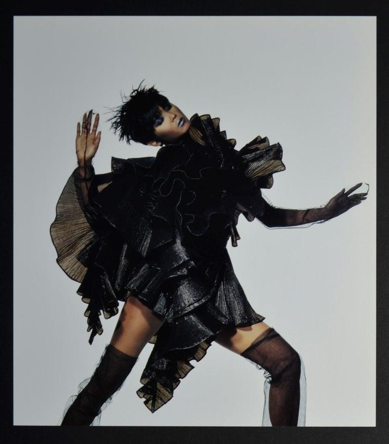 Modern Black & White Quad-Tone Photo-Engraving, Irving Penn, Issey Miyake Fashion, NYC For Sale