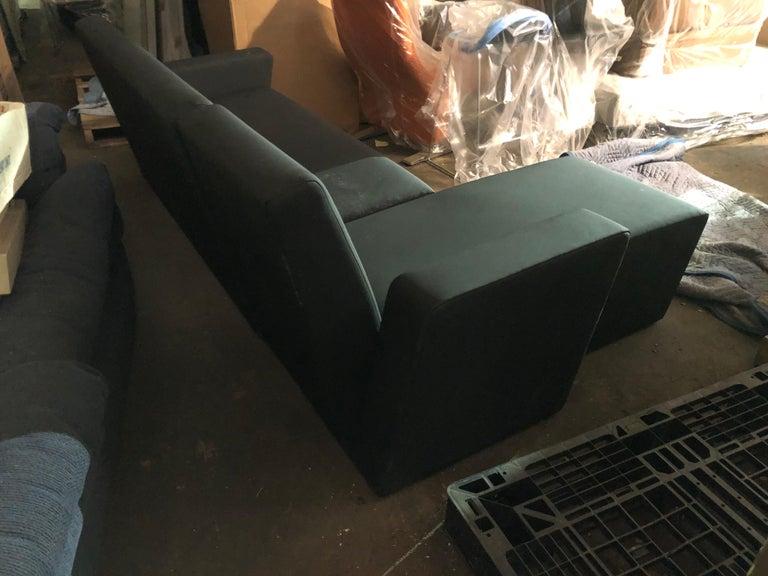 Black Wittmann Vienna Sectional Sofa For Sale 3