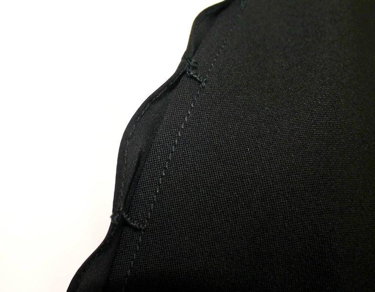 Black YSL Yves Saint Laurent by Tom Ford Evening Blazer Jacket Ribbon Details For Sale 1