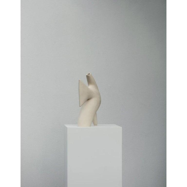 Belgian Blackbird Vase by Cosmin Florea For Sale