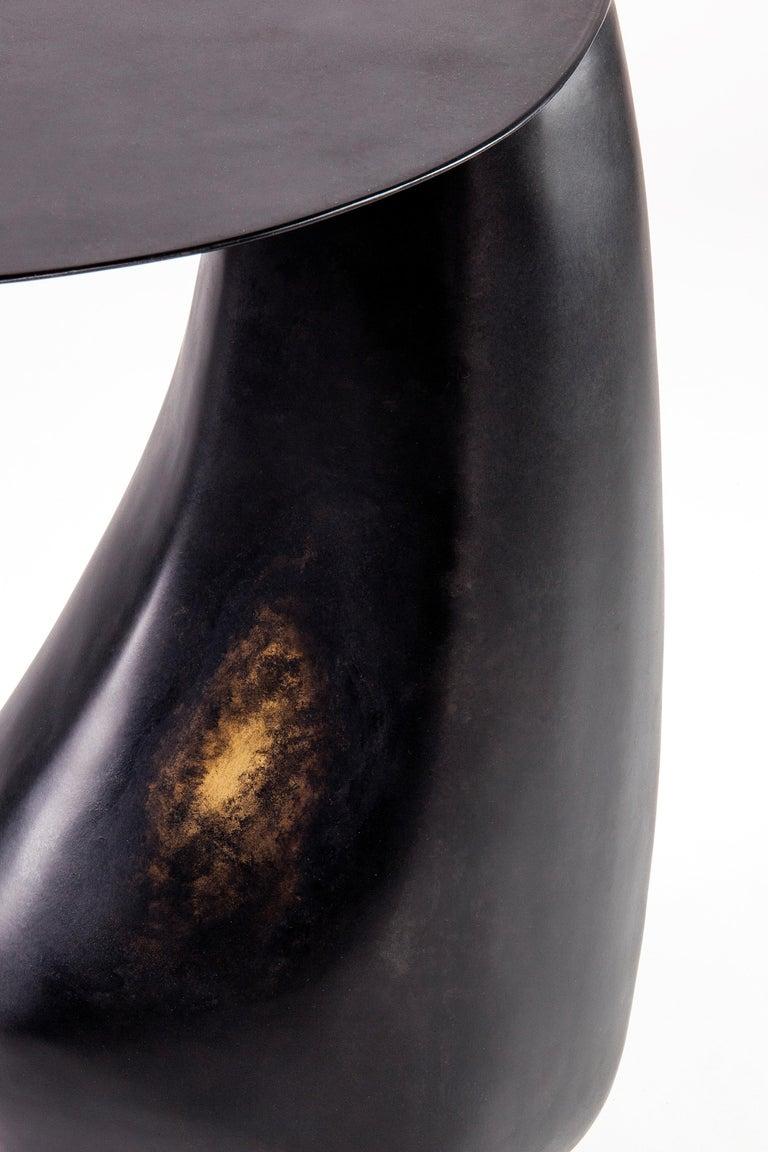 Blackened Steel Dionis Side Table by Konekt Furniture For Sale 1