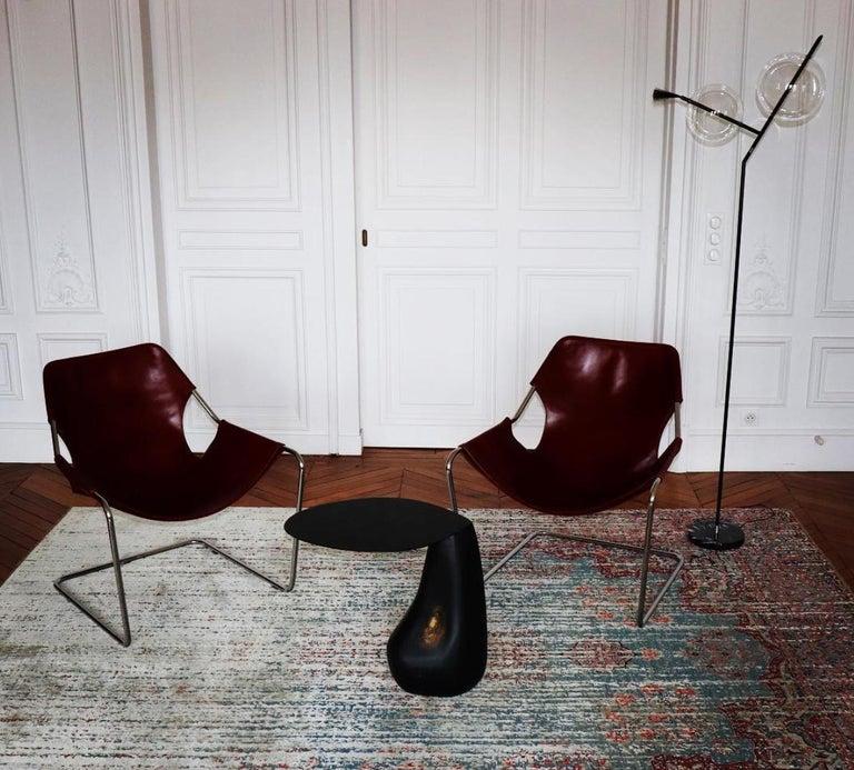 Blackened Steel Dionis Side Table by Konekt Furniture For Sale 3