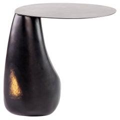 Blackened Steel Dionis Side Table by Konekt Furniture