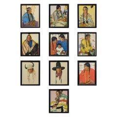 Blackfeet Indians Prints by Weinhold Reis