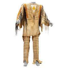 Blackfeet Warriors Shirt and Leggings on Mannequin