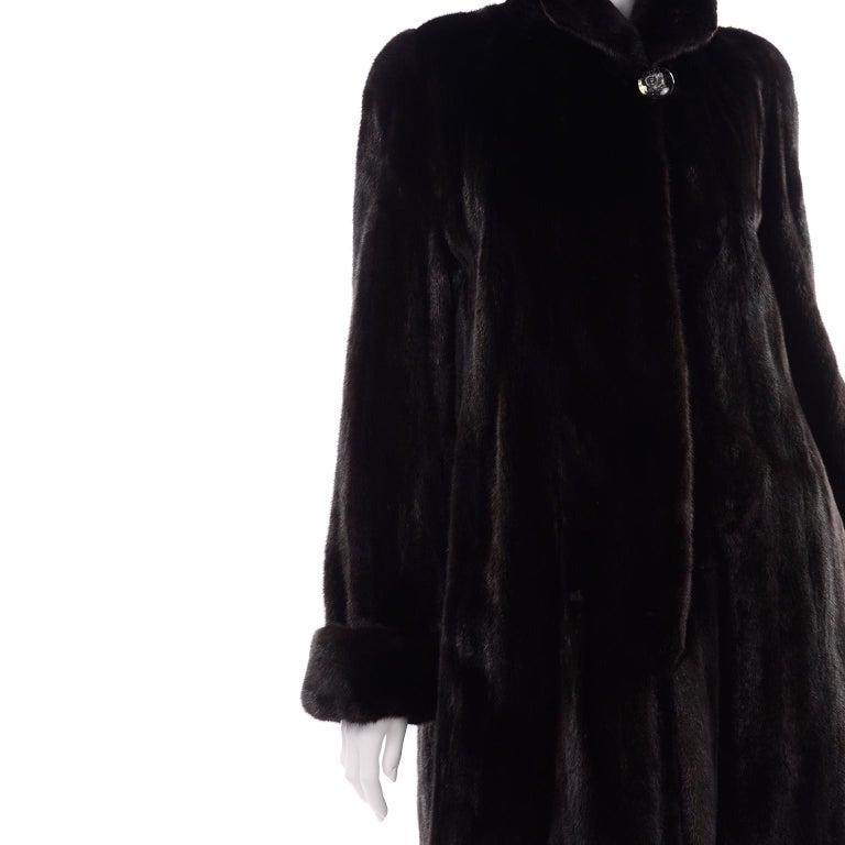 Blackglama Dark Ranch Mink Coat  For Sale 6