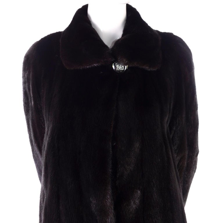 Blackglama Dark Ranch Mink Coat  For Sale 5