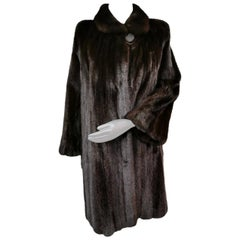 Blackglama mink fur coat size 14-16