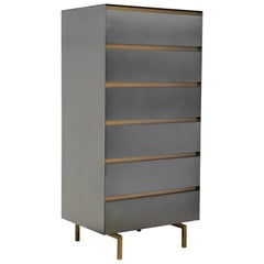 Blackgold, Drawers in Iron Varnished Metal Sheets