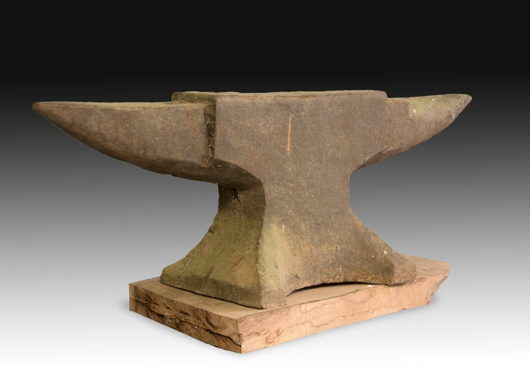 blacksmith anvil iron 19th century for sale at 1stdibs. Black Bedroom Furniture Sets. Home Design Ideas