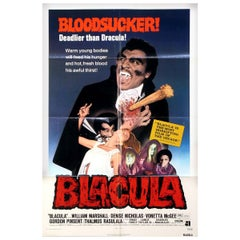 Blacula, 1972 Poster