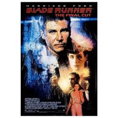 'Blade Runner' R2007 U.S. One Sheet Film Poster