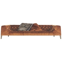 Blake 4-Seat Sofa in Fabric by Roberto Cavalli