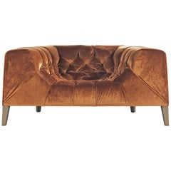 Blake Armchair in Fabric by Roberto Cavalli Home Interiors