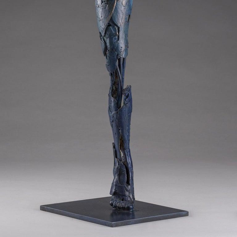 Ushabti Hetheru (Goddess of Creation) - Gold Figurative Sculpture by Blake Ward