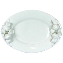 Blanc de Chine Italian Glazed Serving Platter