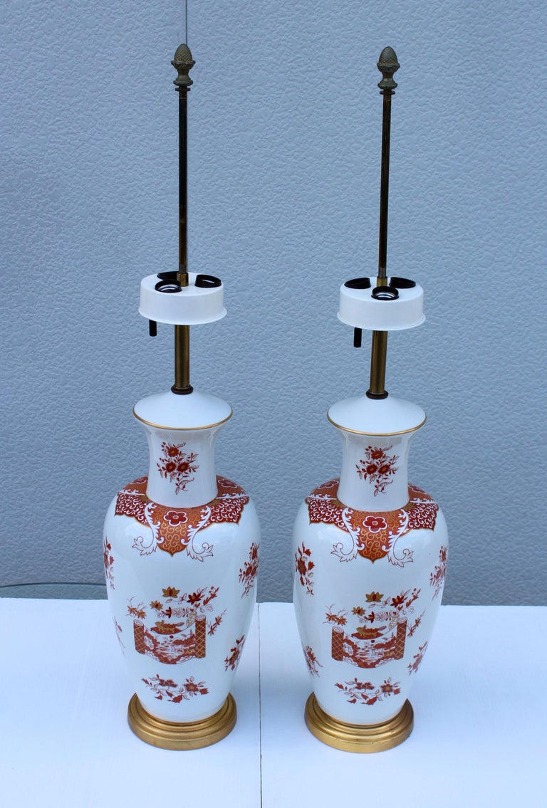 Blanc De Chine Large Table Lamps For Sale 11