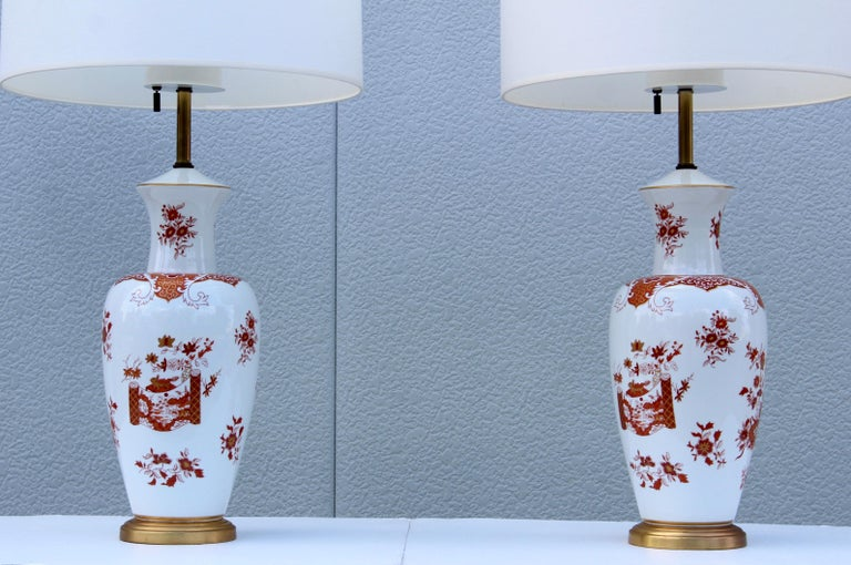 Blanc De Chine Large Table Lamps For Sale 1