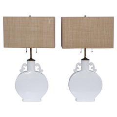 Blanc De Chine Table Lamps