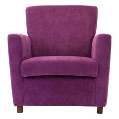 Blanca Purple Armchair