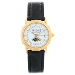 Blancpain 18 Karat Yellow Gold Moonphase Ladies Watch