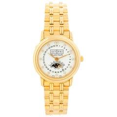 Blancpain 18 Karat Yellow Gold Villeret Moonphase Ladies Watch