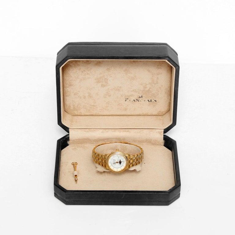 Blancpain 18 Karat Yellow Gold Villeret Moonphase Ladies Watch For Sale 1