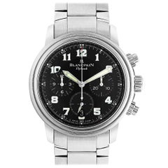 Blancpain Chronograph Flyback 2185F-1130-71, Black Dial, Certified