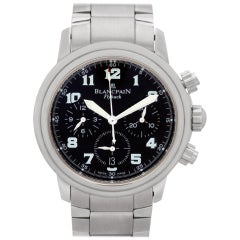 Blancpain Chronograph Flyback 2185F-1130-71, Black Dial