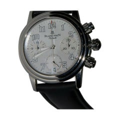 Blancpain Chronograph Flyback 3185F-4554-64B, White Dial