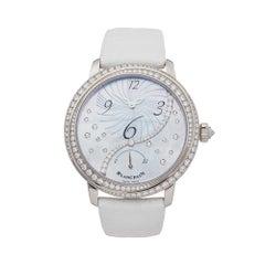 Blancpain Femme 18k White gold 3650A3554L58B Wristwatch