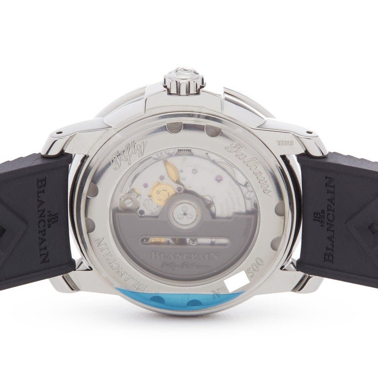 Blancpain Fifty Fathoms Barakuda 5008B-1130-B52A Men Stainless Steel Limited Ed For Sale 2