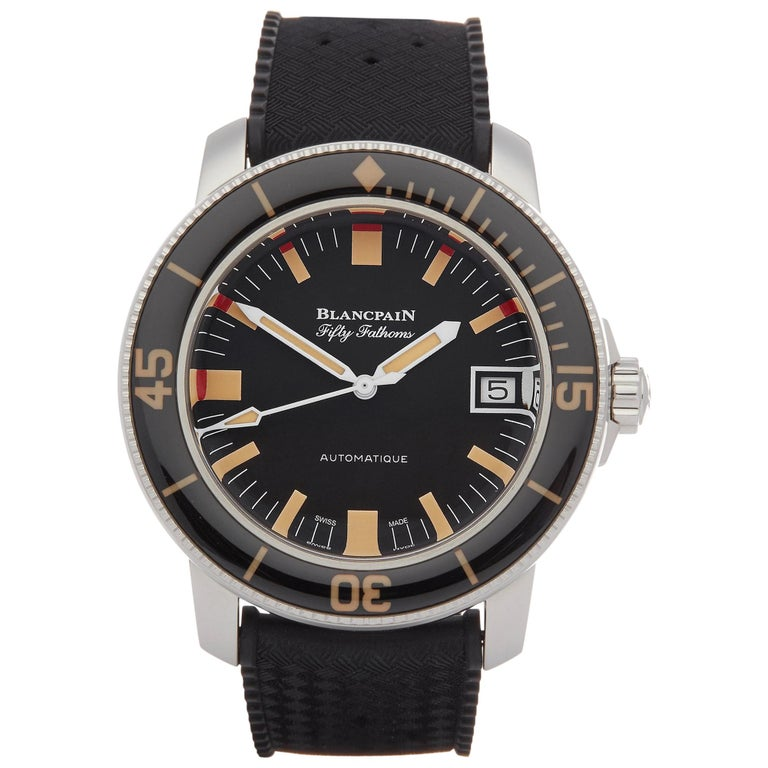 Blancpain Fifty Fathoms Barakuda 5008B-1130-B52A Men Stainless Steel Limited Ed For Sale