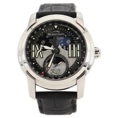 Blancpain L-Evolution Moonphase 8 Days Automatic Watch Stainless Steel