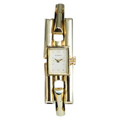 Blancpain Ladies 14 Karat Solid Yellow Gold Art Deco Bracelet Watch, 1950s
